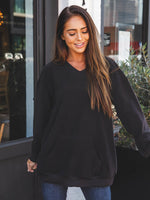 Soft Megan Pullover - Black