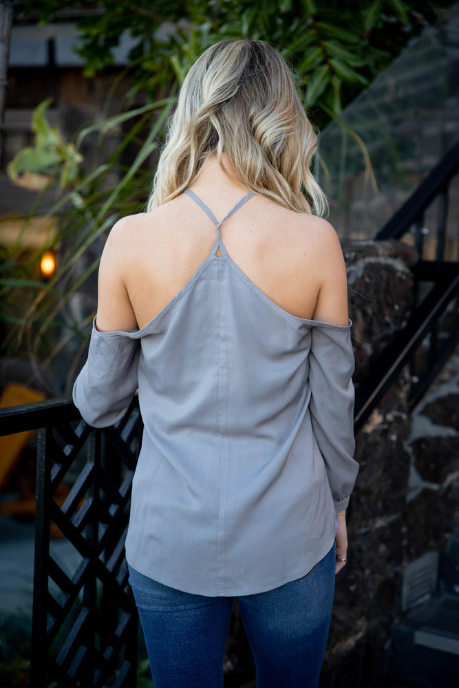 Leia Top - Gray