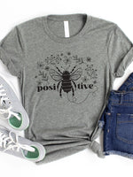 Bee Positive Graphic Tee