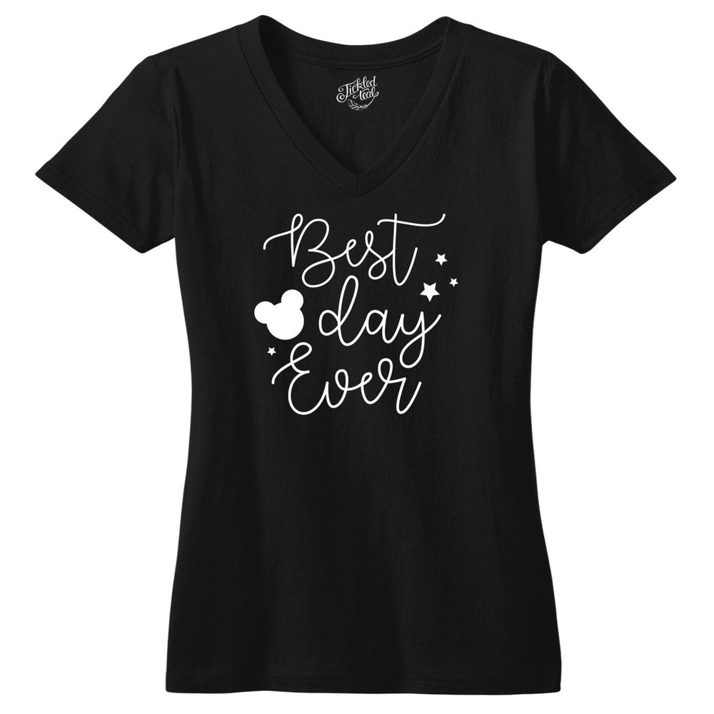 Best Day Ever Tshirt - Tickled Teal LLC