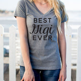 Best Gigi Ever Tshirt - Tickled Teal LLC