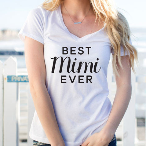 Best Mimi Ever Tshirt - Tickled Teal LLC