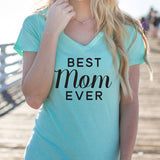 Best Mom Ever Tshirt - Tickled Teal LLC