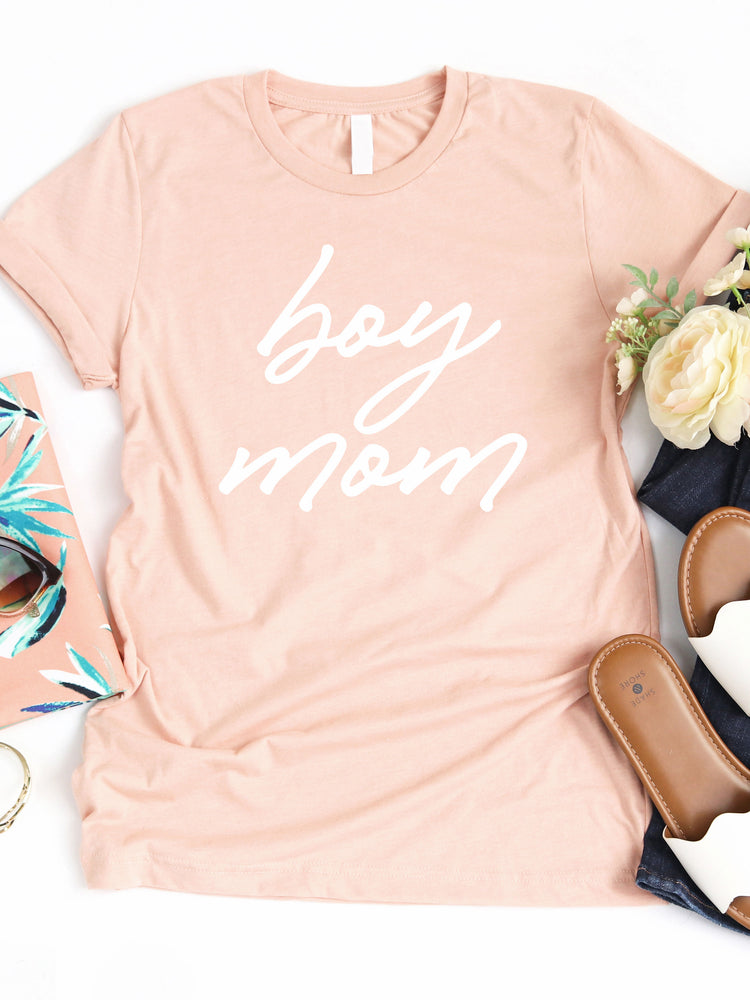 Boy Mom Graphic Tee