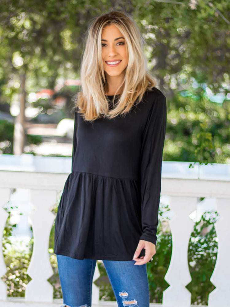 The Evelyn Top - Black