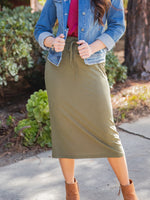 The Sonny Skirt - Olive