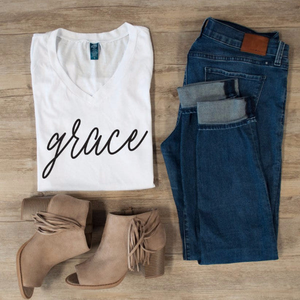 Grace Tshirt - Tickled Teal LLC