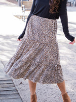 Amara Skirt - Small Brown Cheetah