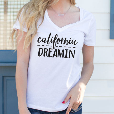 California Dreamin Tshirt - Tickled Teal LLC