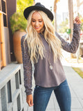 The Skylar Top - Gray