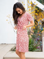 Berkeley Dress - Small Red Floral