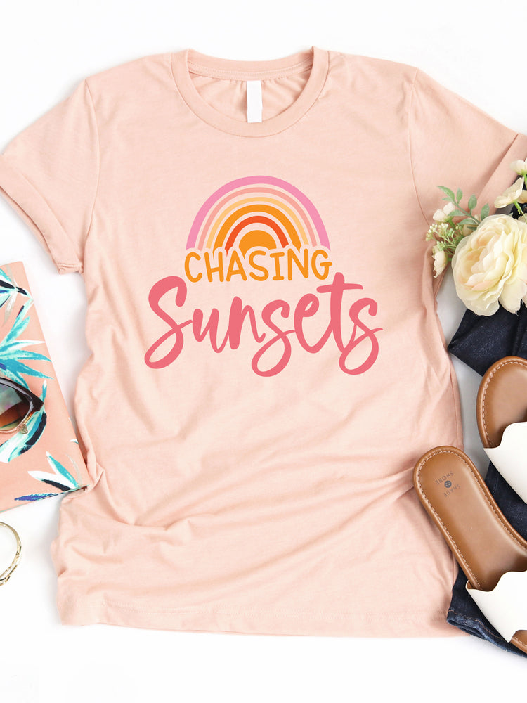 Chasing Sunsets Graphic Tee