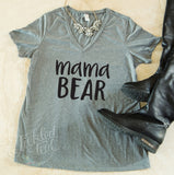 Mama Bear Tshirt - Tickled Teal LLC