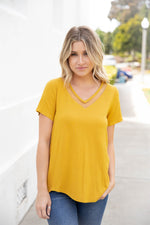 The Bliss Top - Mustard