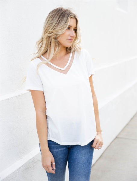 The Bliss Top - White