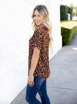 The Emma Top - Brown