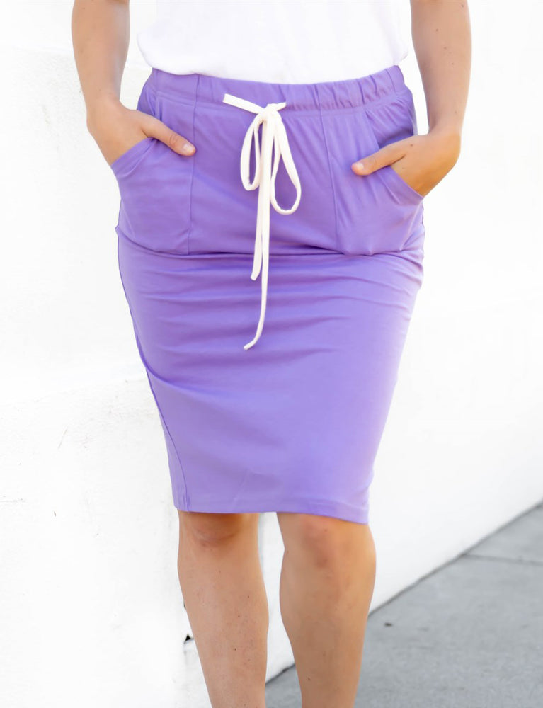 The Alexis Skirt - Purple