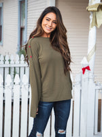 The Perry Top - Olive