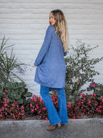 The Mae Cardigan - Blue - Tickled Teal LLC