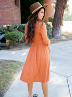 The Isla Dress - Orange
