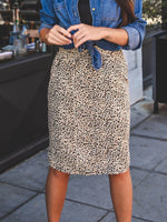 Evie Weekend Skirt - Brown