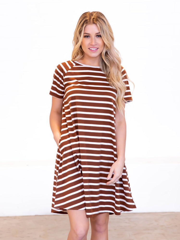 The Delilah Dress - Brown