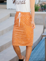 The Alexis Skirt - Gold Dot
