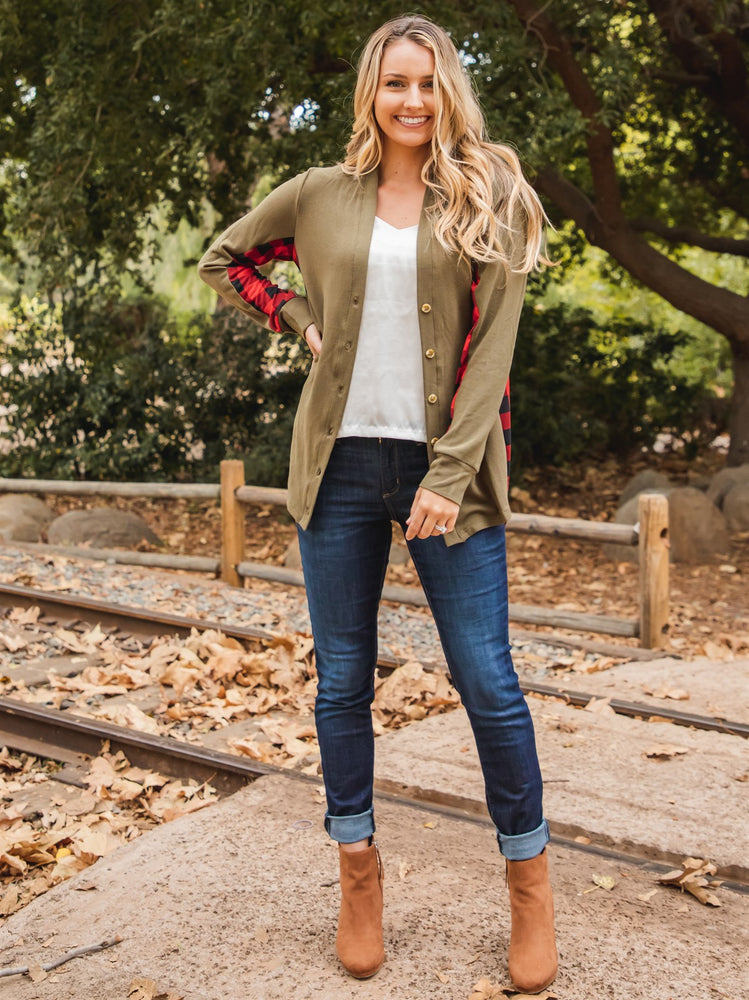 Dutch Cardigan - Olive