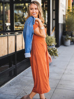 The Daisy Jumpsuit - Clay