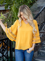 The Gia Top - Mustard