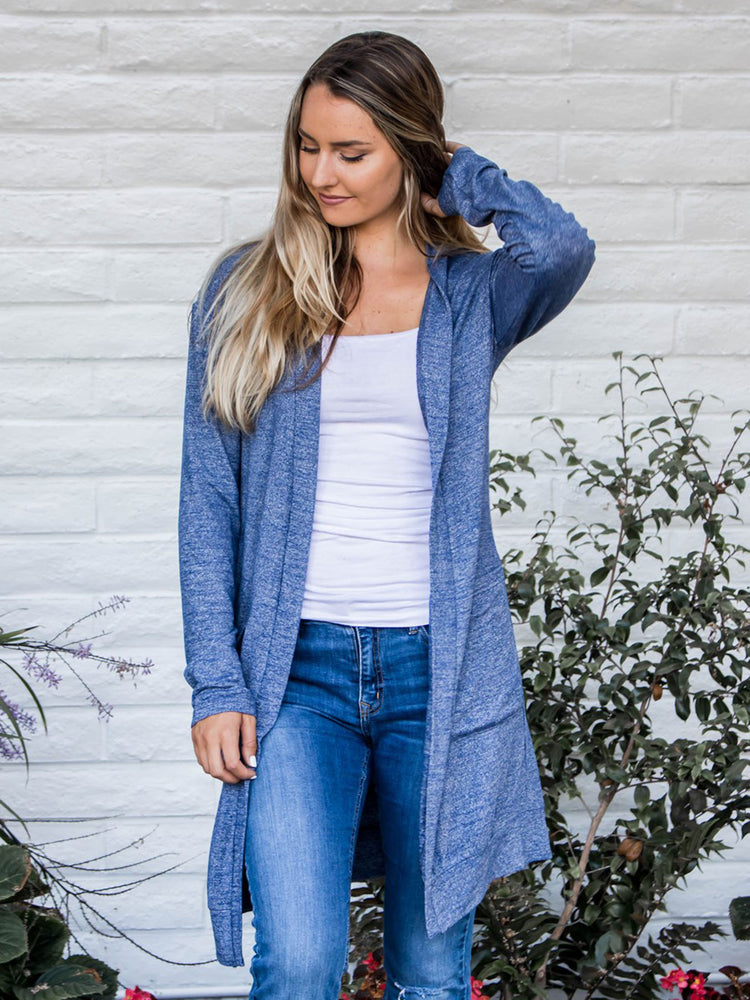 The Mae Cardigan - Blue