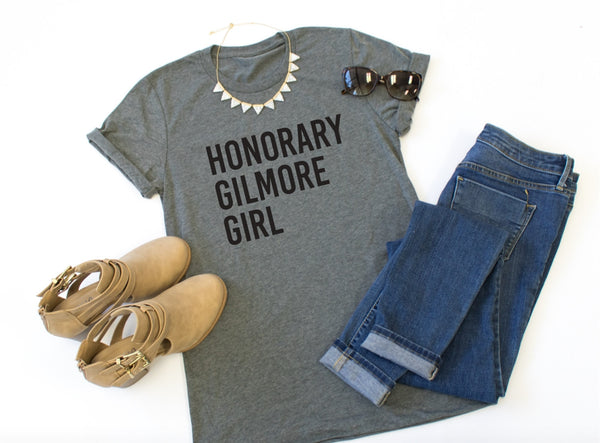 Honorary Gilmore Girl Crew Neck Tee