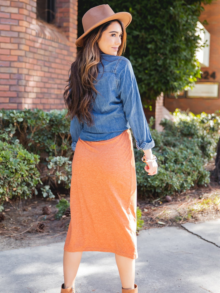 The Sonny Skirt - Orange