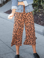 Erin Gaucho Pants - Brown Leopard