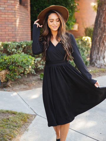 The Isla Dress - Black