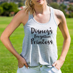 Forgotten Disney Princess Tank - Tickled Teal LLC