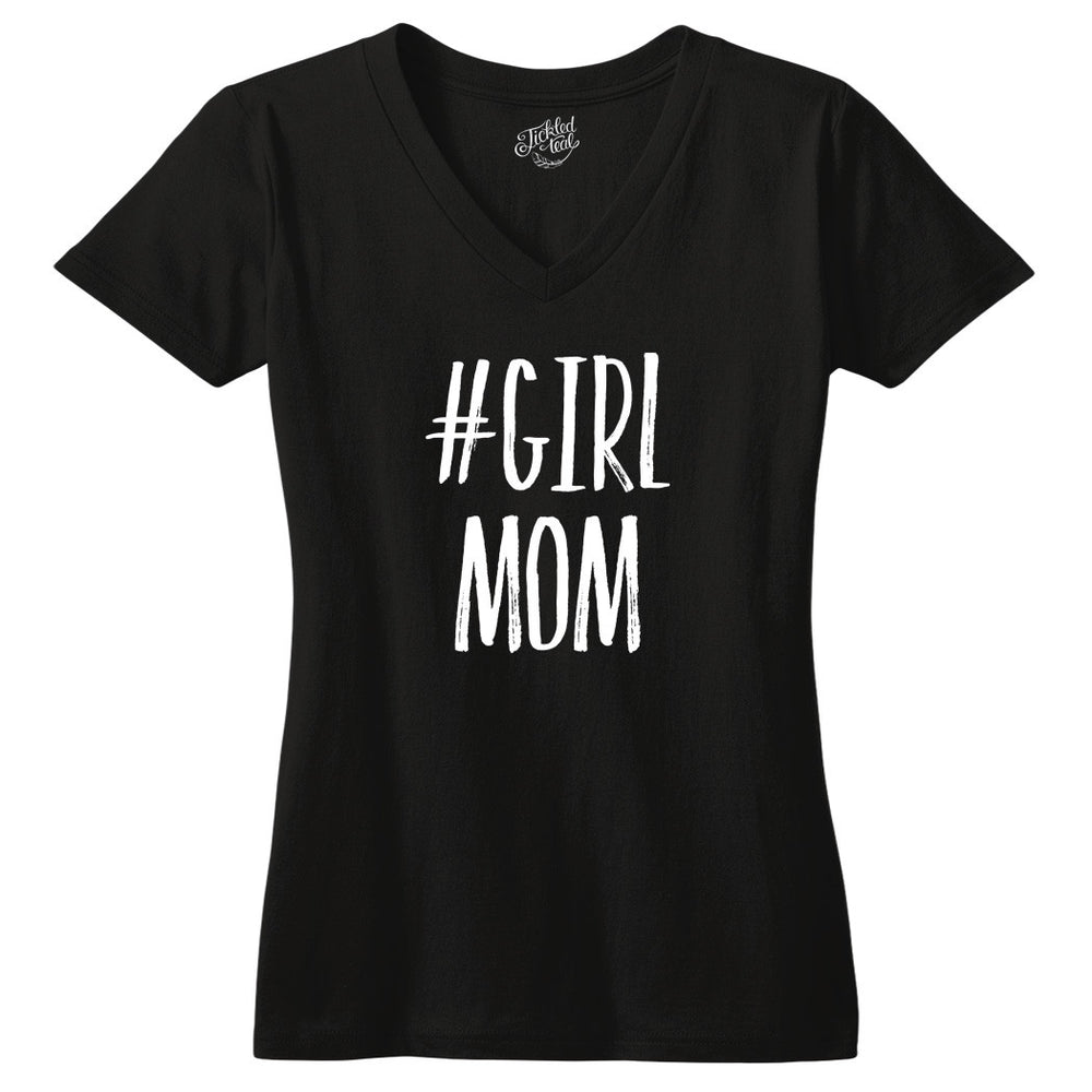 Girl Mom Tshirt - Tickled Teal LLC