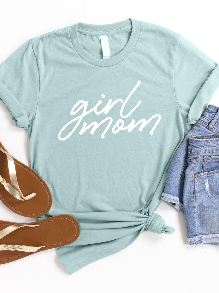 Girl Mom Graphic Tee