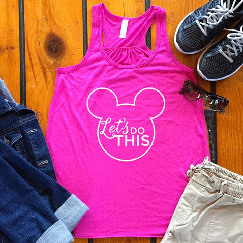 Let's Do This Disney Tank - Tickled Teal LLC
