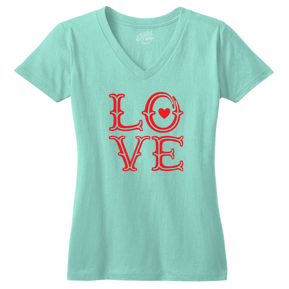 Love Tshirt - Tickled Teal LLC