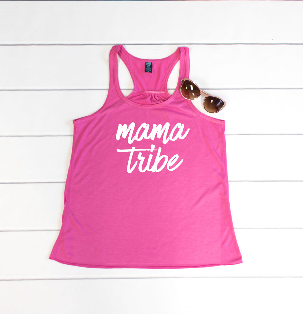 Mama Tribe Tank - Tickled Teal LLC