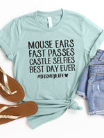 Mouse Ears Best Day Ever Graphic Tee