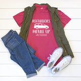 Regulators mount up #motherhood Crew Neck Tee - Tickled Teal LLC