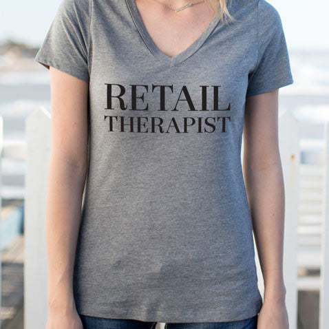 Retail Therapist Tshirt - Tickled Teal LLC