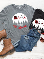 Sleigh Merry Christmas Graphic Tee
