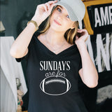 Sundays are for Football Tshirt - Tickled Teal LLC