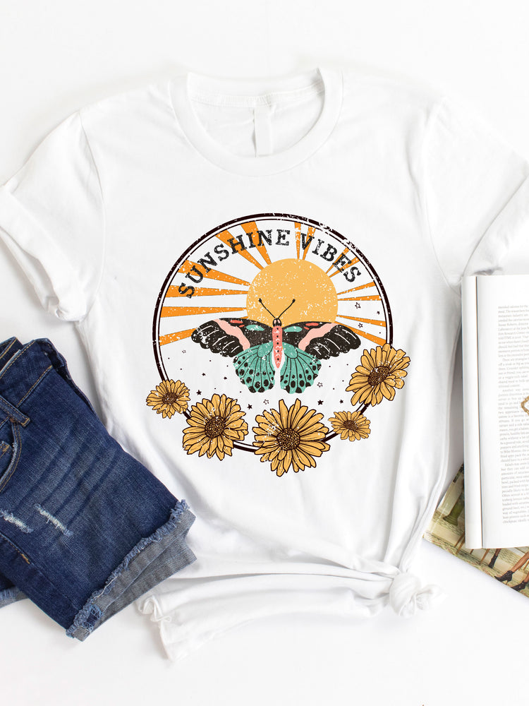 Sunshine Vibes Graphic Tee