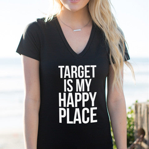 Target Is My Happy Place Tshirt