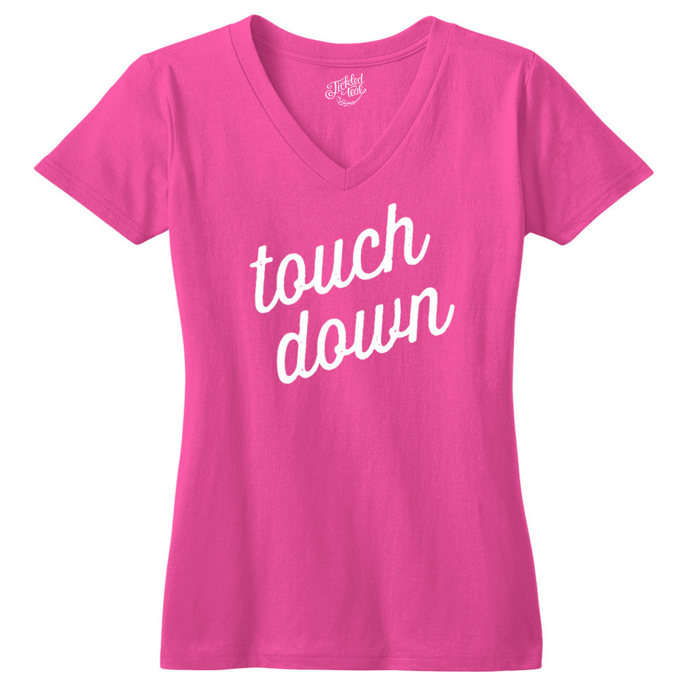 Touch Down Tshirt - Tickled Teal LLC