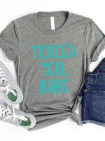 Tickled Teal Babe Graphic Tee